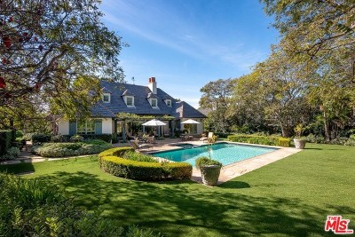San Luis Obispo County, Santa Barbara County Single Family Home For Sale: 1164 Hill Road
