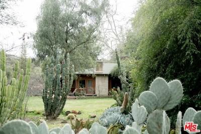 Topanga Single Family Home For Sale: 1521 N Topanga Canyon