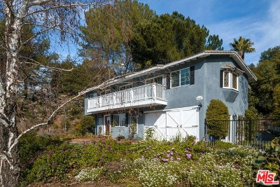 Calabasas Single Family Home For Sale: 25601 Huckleberry Drive