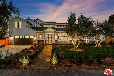 Studio City Single Family Home Active Under Contract: 12739 Halkirk Street