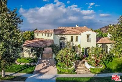 Brentwood, Calabasas, West Hills, Woodland Hills Single Family Home For Sale: 25415 Prado De Las Peras