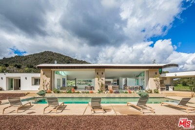 Topanga Single Family Home For Sale: 1750 Will Geer Road