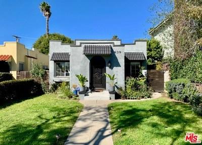 Venice Single Family Home For Sale: 939 Harding Avenue