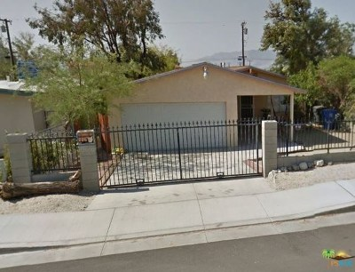 Desert Hot Springs CA Single Family Home For Sale: $195,000