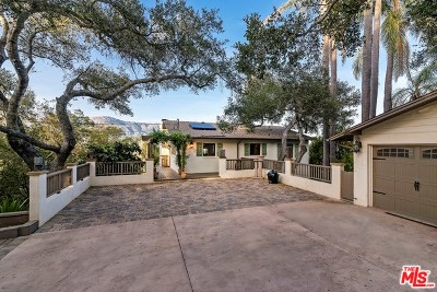 Santa Barbara Single Family Home For Sale: 1150 Bel Air Drive