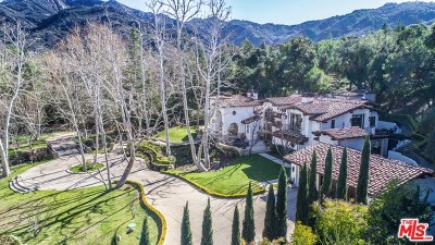 Brentwood, Calabasas, West Hills, Woodland Hills Single Family Home For Sale: 25919 Dark Creek Road