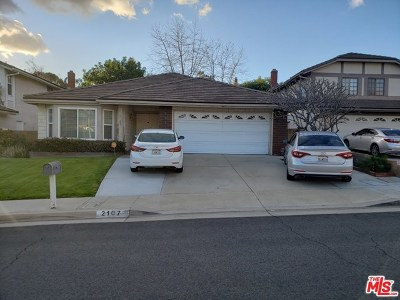 Orange County Single Family Home Active Under Contract: 2107 Greenwood Court