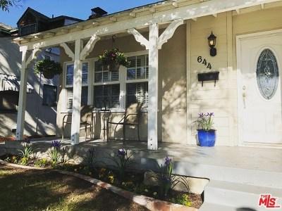 Burbank Single Family Home For Sale: 644 N Kenwood Street