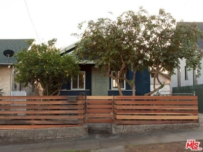 Los Angeles Single Family Home For Sale: 2710 E 5th Street