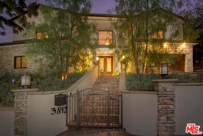 Sherman Oaks Single Family Home For Sale: 3812 Woodcliff Road