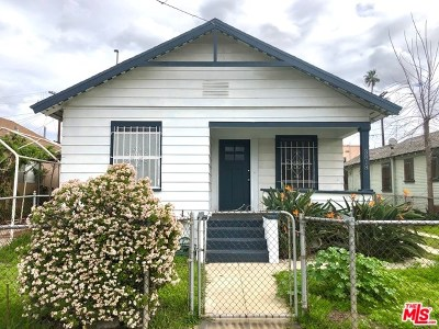 Los Angeles Multi Family Home For Sale: 3818 Crawford Street