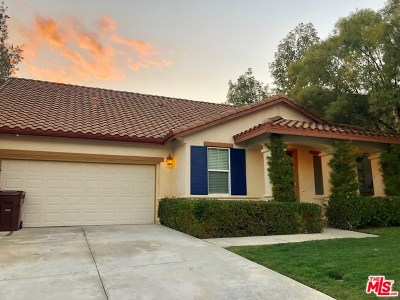 Moreno Valley Single Family Home For Sale: 10201 Coral Lane