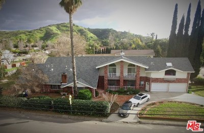 Shadow Hills Single Family Home For Sale: 9830 Helen Avenue