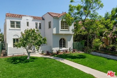Los Angeles Single Family Home For Sale: 890 S Bronson Avenue