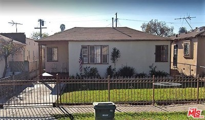 Single Family Home For Sale: 540 W 111th Place