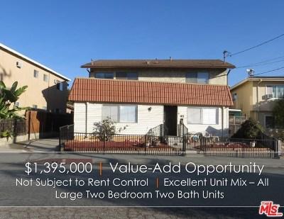 San Gabriel Multi Family Home For Sale: 411 Clary Avenue