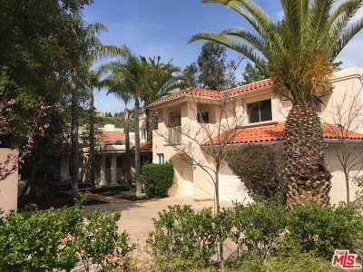 Brentwood, Calabasas, West Hills, Woodland Hills Single Family Home For Sale: 24953 Palmilla Drive