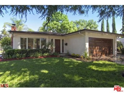 Toluca Lake Single Family Home For Sale: 11247 Kling Street