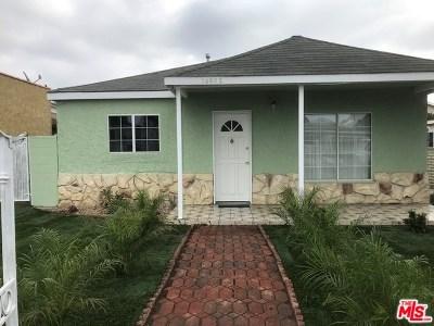 Lawndale Single Family Home For Sale: 14802 Firmona Avenue