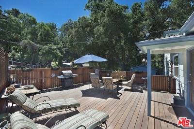Topanga Single Family Home For Sale: 20973 E Hillside Drive