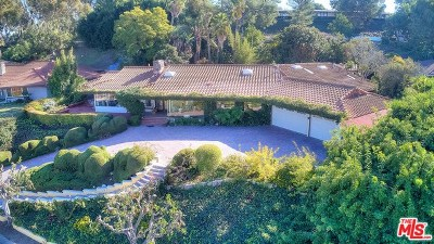 Rancho Palos Verdes Single Family Home For Sale: 28928 Crestridge Road