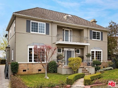 Los Angeles Single Family Home For Sale: 1245 S Camden Drive
