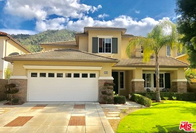 Azusa Single Family Home For Sale: 26 Boulder Ridge Court