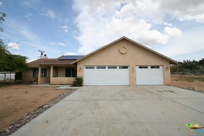 Yucca Valley CA Single Family Home For Sale: $219,900
