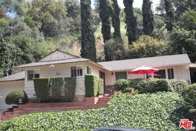 Studio City Single Family Home For Sale: 3530 Laurelvale Drive