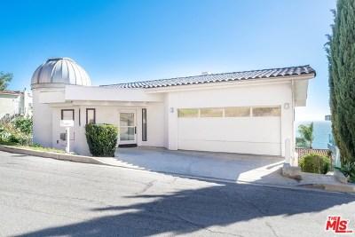 Malibu Single Family Home For Sale: 21566 Rambla