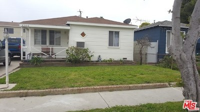 Lawndale Single Family Home For Sale: 4306 W 165th Street