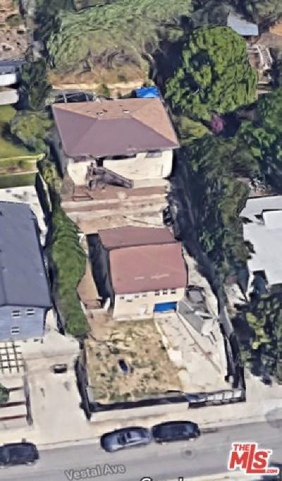 Los Angeles Multi Family Home For Sale: 1933 Vestal Avenue