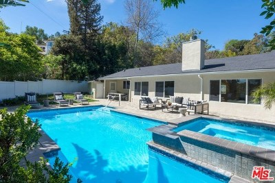 Studio City Single Family Home For Sale: 3640 Wrightwood Drive