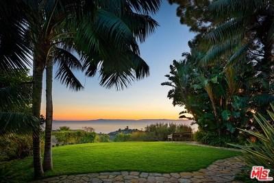 Santa Barbara County Single Family Home For Sale: 395 Asegra Road