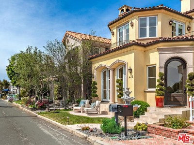 Los Angeles County Single Family Home For Sale: 473 34th Street