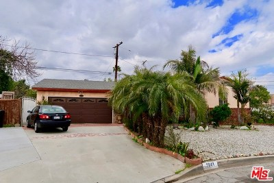 Downey Single Family Home For Sale: 7841 Vista Del Rosa Street