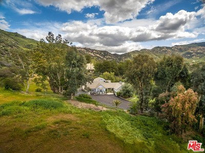 Brentwood, Calabasas, West Hills, Woodland Hills Single Family Home For Sale: 2069 Cold Canyon Road