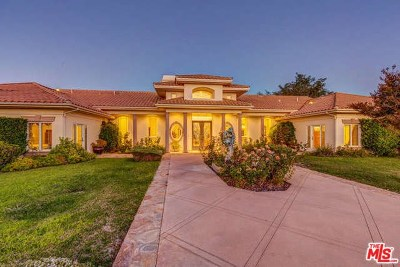 Murrieta Single Family Home For Sale: 40355 Via Herradura