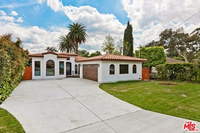 Sierra Madre Single Family Home Active Under Contract: 696 Ramona Avenue