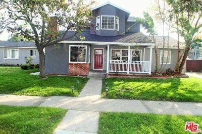 Long Beach Single Family Home For Sale: 5480 E Hill Street