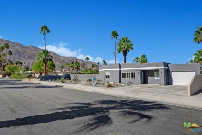 Palm Springs Single Family Home For Sale: 1572 N Riverside Drive