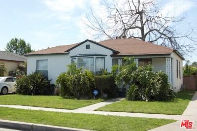 Compton Single Family Home For Sale: 1321 S Butler Avenue
