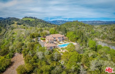 Single Family Home For Sale: 2900 Spring Mountain Road