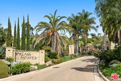 Fairbanks Ranch Single Family Home For Sale: 6855 Spyglass Lane