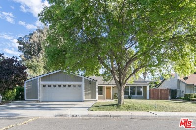 Hemet, San Jacinto Single Family Home For Sale: 41351 Shadow Palm Way