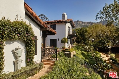 San Luis Obispo County, Santa Barbara County Single Family Home For Sale: 660 El Bosque Road
