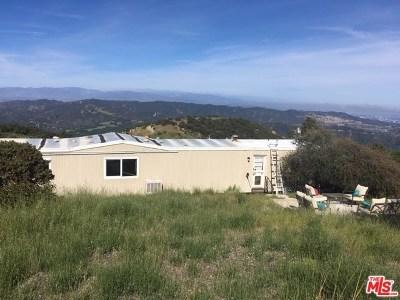 Topanga Single Family Home For Sale: 21985 Saddle Peak Rd