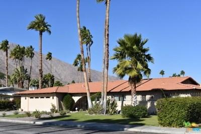 Palm Springs Single Family Home For Sale: 1338 E Via Estrella