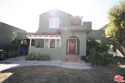 Los Angeles Single Family Home For Sale: 107 S Larchmont