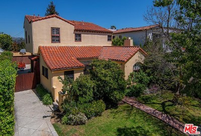 Los Angeles Single Family Home For Sale: 6327 Maryland Drive